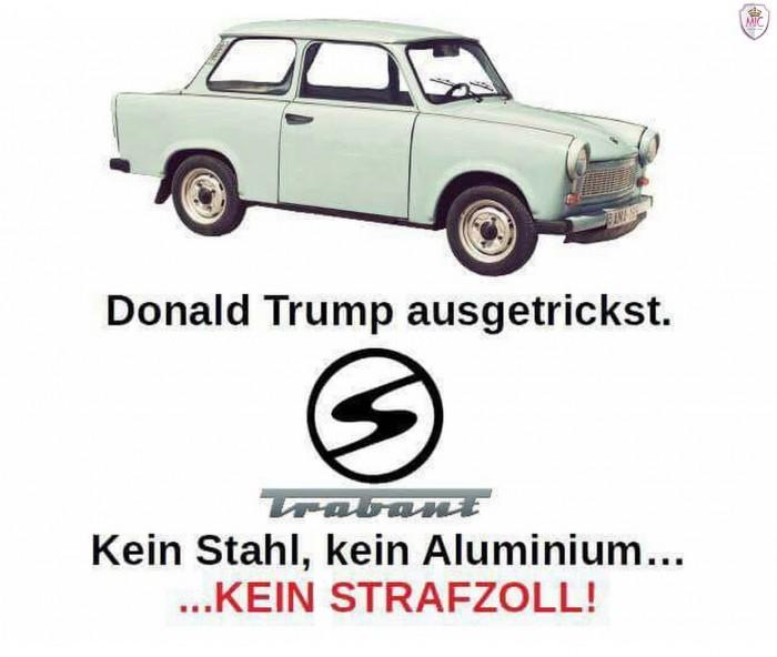 Donald Trump ausgetrickst! ;-)